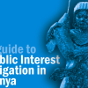 A Guide to Public Interest Litigation in Kenya