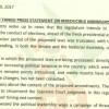 KURA YANGU SAUTI YANGU PRESS STATEMENT ON IRREDUCIBLE MINIMUMS